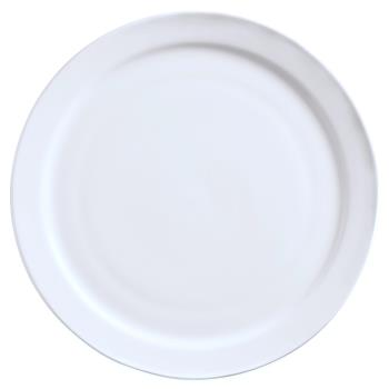 "WTI840405N10 - World Tableware - 840-405N-10 - Porcelana 5 1/2"" Narrow Rim Plate Product Image"