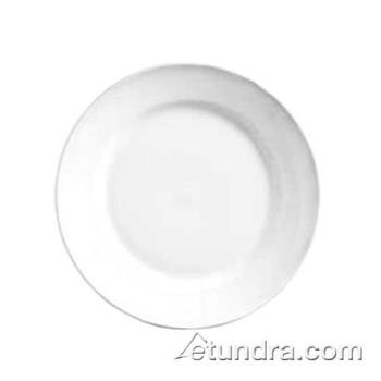 "WTI840410R23 - World Tableware - 840-410R-23 - Porcelana 6 1/4"" Wide Rim Plate Product Image"