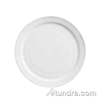"WTI840420N12 - World Tableware - 840-420N-12 - Porcelana 7 1/4"" Narrow Rim Plate Product Image"