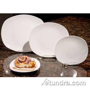"WTI840437B - World Tableware - 840-437B - Porcelana 10"" x 9"" Oblong Plate Product Image"