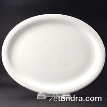 "WTINR12 - World Tableware - NR-12 - Kingsmen Ultima 9 3/4"" x 7 1/2"" Platter Product Image"