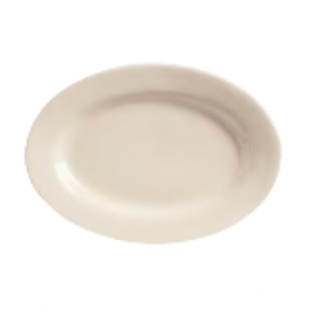 WTIPWC34 - World Tableware - PWC-34 - Princess Ultima 9 3/8 in x 6 1/2 in Platter Product Image