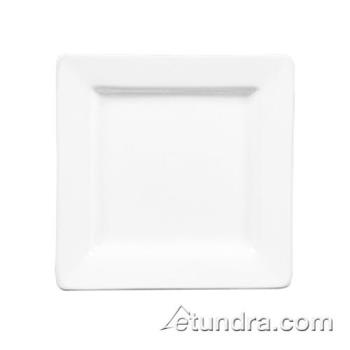 "WTISL10 - World Tableware - SL-10 - Slate Collection 10 5/8"" Square Plate Product Image"