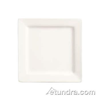 "WTISL114 - World Tableware - SL-114 - Slate Collection 4"" Square Micro Plate Product Image"