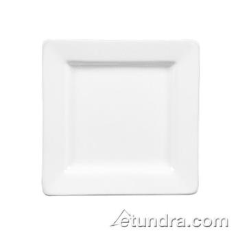 "WTISL6 - World Tableware - SL-6 - Slate Collection 6 1/4"" Square Plate Product Image"