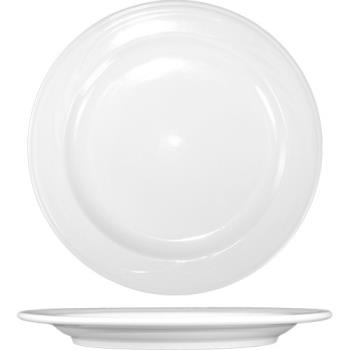 ITWAM21 - ITI - AM-21 - 11 3/4 in Amsterdam™ Embossed Porcelain Plate Product Image