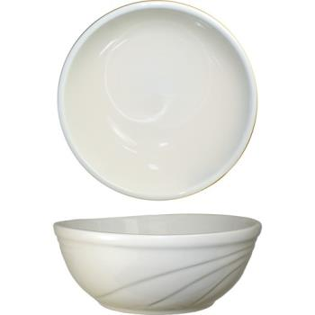 ITWY18 - ITI - Y-18 - 16 Oz York™ Embossed Nappie Bowl With Glazed Foot Product Image