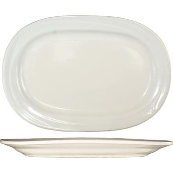 ITWNP12 - ITI - NP-12 - 10 3/8 in x 7 1/2 Newport™ Embossed Platter Product Image