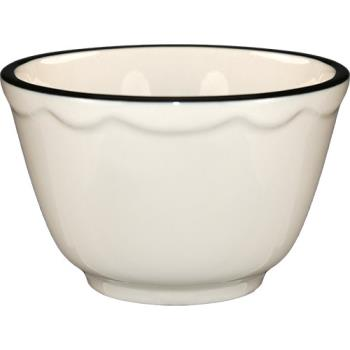 ITWSY4 - ITI - SY-4 - 8 Oz Sydney™ Bouillon With Scalloped Edge and Black Band Product Image