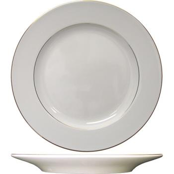 ITWFL16GF - ITI - FL-16GF - 10 in Florentine™ Plate With Gold Band Product Image