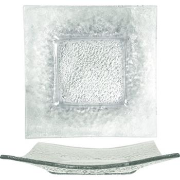 ITWIGPC10 - ITI - IGPC-10 - 10 in Arctic Glacier™ Square Clear Glass Plate Product Image