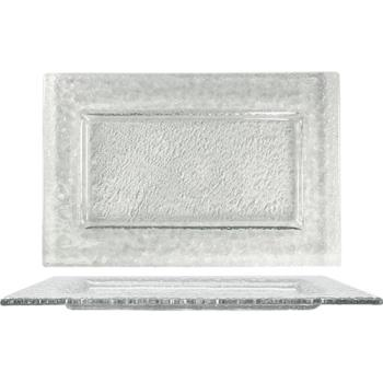 ITWIGPC12 - ITI - IGPC-12 - 12 in x 8 Arctic Glacier™ Rectangular Clear Glass Plate Product Image