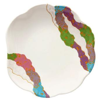GET139CO - GET Enterprises - 139-CO - Contemporary 8 in Scallop Plate Product Image