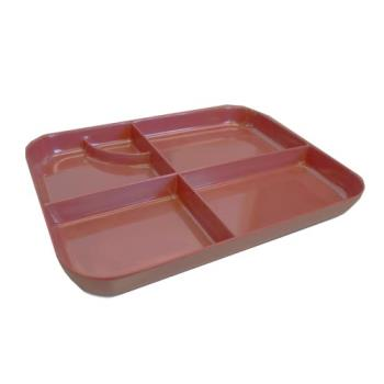 75498 - GET Enterprises - 171-I - 5 Compartment Bento Tray Product Image