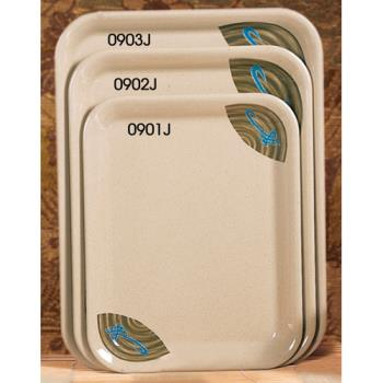"THG0901J - Thunder Group - 0901J - 13 1/8"" x 10 1/4"" Wei Sandwich Tray Product Image"