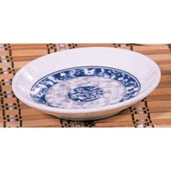 "THG1004DL - Thunder Group - 1004DL - 4 1/2"" Blue Dragon Round Plate Product Image"
