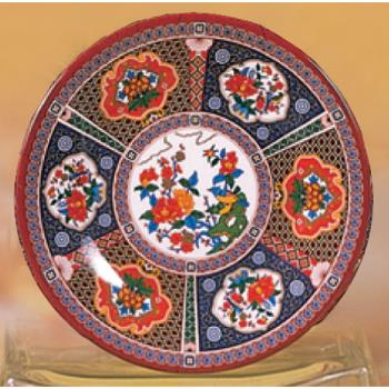 "THG1006TP - Thunder Group - 1006TP - 6"" Peacock Soup Plate Product Image"