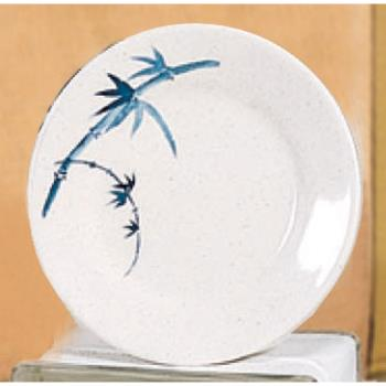 "THG1009BB - Thunder Group - 1009BB - 9 1/3"" Blue Bamboo Round Plate Product Image"
