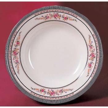 "THG1109AR - Thunder Group - 1109AR - 9 1/4"" Rose Soup Plate Product Image"