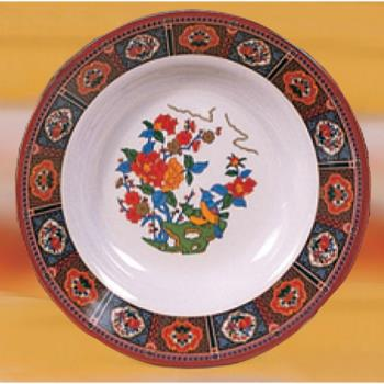 "THG1110TP - Thunder Group - 1110TP - 10 3/8"" Peacock Soup Plate Product Image"