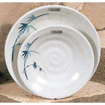 "THG1350BB - Thunder Group - 1350BB - 5 1/8"" Blue Bamboo Soup Plate Product Image"