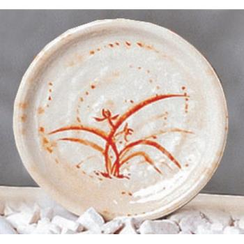 "THG1707 - Thunder Group - 1707 - 7 1/2"" Gold Orchid Kyoto Plate Product Image"