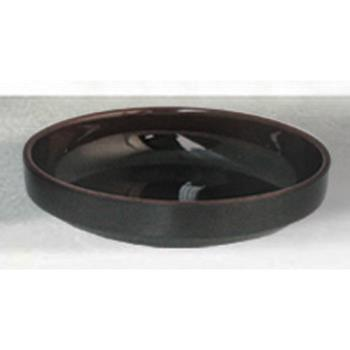 "THG1904TM - Thunder Group - 1904TM - 4 1/2"" Tenmoku Flat Bowl Product Image"
