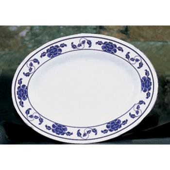"THG2010TB - Thunder Group - 2010TB - 9 7/8"" x 7 1/4"" Lotus Oval Platter Product Image"