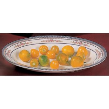 "THG2109AR - Thunder Group - 2109AR - 9"" x 6 3/4"" Rose Deep Oval Platter  Product Image"