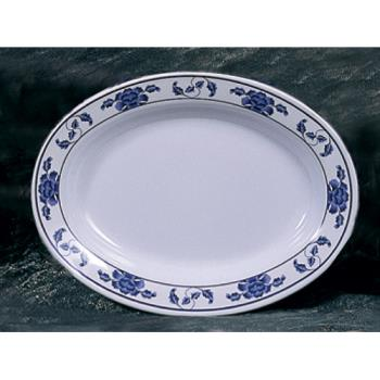 "THG2113TB - Thunder Group - 2113TB - 13"" x 9 3/4"" Lotus Deep Oval Platter Product Image"