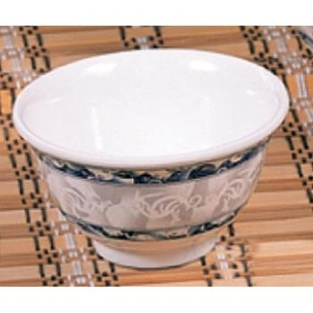 "THG3008DL - Thunder Group - 3008DL - 3 3/4"" Blue Dragon Rice Bowl Product Image"