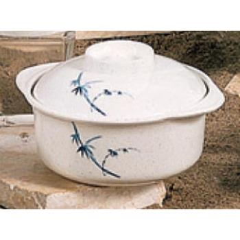 THG3503BB - Thunder Group - 3503BB - 12 oz. Blue Bamboo Miso Soup Bowl Product Image