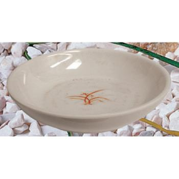 "THG3955GD - Thunder Group - 3955GD - 5"" Gold Orchid Flat Bowl Product Image"