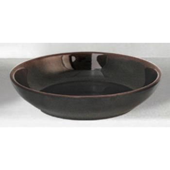 "THG3955TM - Thunder Group - 3955TM - 5 1/2"" Tenmoku Flat Bowl Product Image"