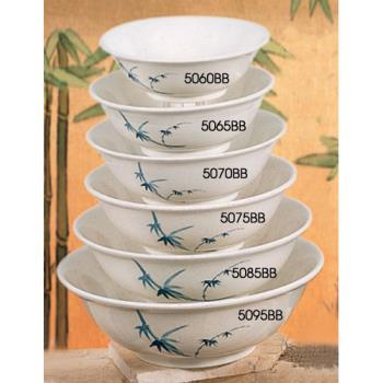 THG5085BB - Thunder Group - 5085BB - 64 oz.  Blue Bamboo Chinese Noodle Bowl Product Image