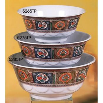 THG5275TP - Thunder Group - 5275TP - 38 oz. Peacock Scalloped Bowl Product Image