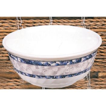 THG5307DL - Thunder Group - 5307DL - 27 oz. Blue Dragon Swirl Bowl Product Image
