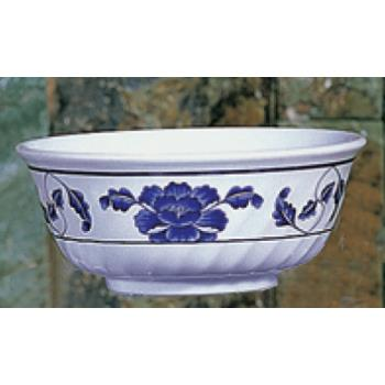 THG5307TB - Thunder Group - 5307TB - 27 oz. Lotus Swirl Bowl Product Image
