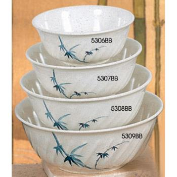THG5308BB - Thunder Group - 5308BB - 45 oz. Blue Bamboo Soba Bowl Product Image