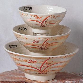 THG5705 - Thunder Group - 5705 - 9 oz. Gold Orchid Ochawan Rice Bowl Product Image
