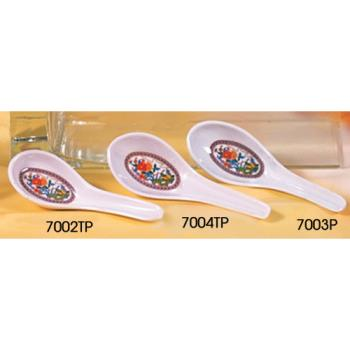 THG7003P - Thunder Group - 7003P - Peacock Won Ton Soup Spoon Product Image