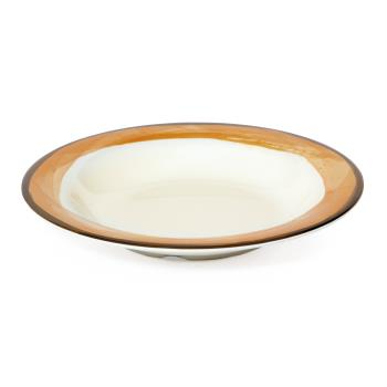 GETB139DIKNO - GET Enterprises - B-139-DI-KNO - 13 oz Orange Diamond Ivory™ Venetian™ Bowl Product Image