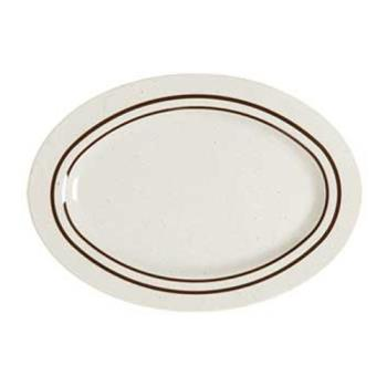 GETM4010U - GET Enterprises - M-4010-U - Ultraware 16 1/4 in Oval Platter Product Image