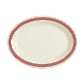 GETOP120OX - GET Enterprises - OP-120-OX - Oxford 12 in x 9 in Oval Platter Product Image