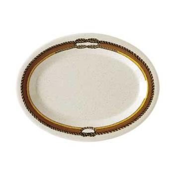 GETOP135RD - GET Enterprises - OP-135-RD - Rodeo 13 1/2 in Oval Platter Product Image
