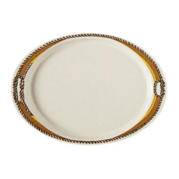 GETOP145RD - GET Enterprises - OP-145-RD - Rodeo 14 3/4 in Oval Platter Product Image