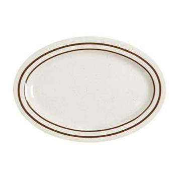 GETOP950U - GET Enterprises - OP-950-U - Ultraware 9 3/4 in Oval Platter Product Image