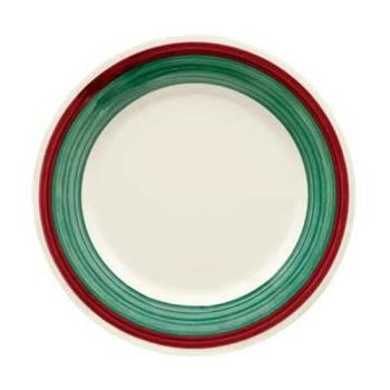GETWP7PO - GET Enterprises - WP-7-PO - Portofino 7 1/2 in Wide Rim Plate Product Image