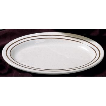 "THGAD222AA - Thunder Group - AD222AA - 12"" x 9"" Arcadia Oval Platter Product Image"