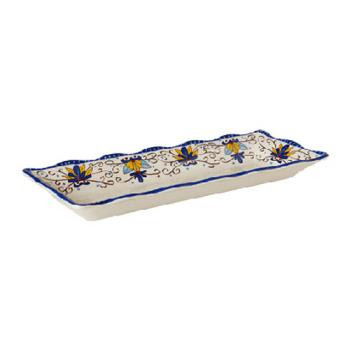 GETML87SL - GET Enterprises - ML-87-SL - Santa Lucia 17 1/2 in x 6 3/4 in Platter Product Image